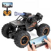 YT6602 1/18 2.4G 2WD RC voiture FPV WIFI contrôle tout-terrain dérive escalade véhicules RTR modèle enfants jouets
