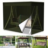 3-местный гамак, качели, крышка Сад, дворик, подвесное кресло, навес для сиденья Сад, защита для мебели для патио