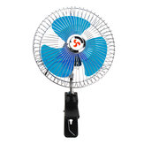 8 Inch 12V Portable Vehicle Auto Car Fan Oscillating Car Auto Clip-On Cooling Fan