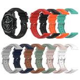 22mm Soft Silicone Watch Strap Band Replacement Sport Bracelet Watchband For Ticwatch Pro3/LTE Haylou Solar LS05 BW-HL3 AT1