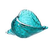 Mundgeblasenes Glas Murano Art Muschel Muschel Skulptur Ocean Figuren Home Raumdekorationen