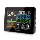 Digoo DG-TH8868 Bezprzewodowy kollubowy ekran Cyfrowy zewnętrzny czujnik pogodowy na podczerwień Stacja pogodowa z czujnikiem temperatury higrometr