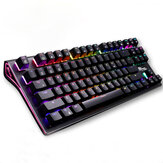 Royal Kludge G87 87 touches clavier de jeu mécanique sans fil bluetooth 3.0 USB filaire RGB clavier