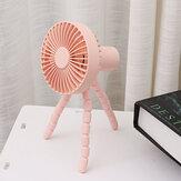 Ventilateur d'été portatif multifonctionnel silencieux de ventilateur de trépied F1010