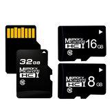 Tarjeta de memoria TF Z-SUIT 16GB/32GB/64GB / 128GB C10 Tarjeta TF de alta velocidad MP4 Tarjeta de almacenamiento de datos MP3 para grabadora de conducción de automóviles Seguridad Monitor Cámara Altavoces de tarjeta