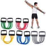 Treinador de força de braço ajustável com 5 molas Academia Aptidão Bandas de resistência de exercício expansor de tórax de borracha para casa Aptidão
