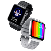 [bluetooth Call]Bakeey M1 1.75 Inch 320*385px HD Screen Body Temperature Measure ECG Heart Rate Blood Pressure O2 Monitor Dual UI Menu 20+ Languages Smart Watch