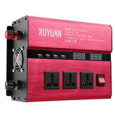 DC 12V/24V To AC 220V/110V Solar Power Inverter 8000W Peak LED Power Sine Wave Converter