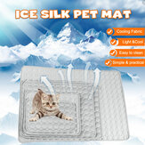 Bakeey Pet Pad Zomer Koelmat Hondenbedden Matten Ice Pad Cool Cold Silk Vochtbestendige koelmatras