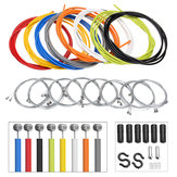 BIKIGHT 2m Multicolor Bike Bicycle Front Rear Inner Outer Wire Brake Line Cable Cycling Repair Kit