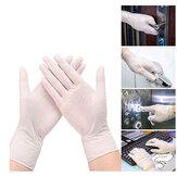 Guantes desechables de PVC de 100 piezas, guantes transparentes de PVC, viajes para acampar al aire libre de protección