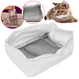 10 pcs Kucing DisposableToilet Litter Tray Box Liners Pet kotoran Tas 7x26 cm