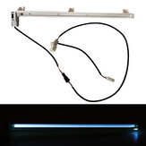 Car Atmosphere Light Strip Bar Ice Blue Lamp Decorative For Toyota Camry
