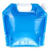 5L Portátil Dobrável Recipiente De Armazenamento De Água Potável Levantamento Bolsa Titular da Bebida de Acampamento Piquenique De Água Bolsa