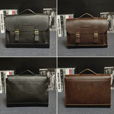 Retro Men Bag PU Leather Men Handbags Casual Business Laptop Bag Messenger Bags Office Bag