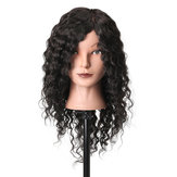 18'' 100% Real Human Hair Salon Mannequin Head