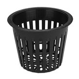 10Pcs  Black Mesh Net Hydroponic Aeroponic Flower Container Plant Grow Pot Cup Planting Baskets