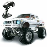 HG P407 1/10 2.4G 4WD Rc Car per TOYATO Metal 4X4 Pickup Truck Rock Crawler RTR Toy
