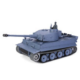 Heng Long 6.0 Pro Version 3818-1 1/16 2.4G Allemagne Tiger I RC Battle Tank Metal Track RTR