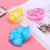 60 ml Mixed Cloud Slime Crystal Sneeuwvlok Coconut Mud DIY Materiaal Decompressie Speelgoed
