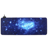 800 * 400 * 3mm USB Bedraad LED Bakclit Starry Sky Groot Muismat Desktop Pad Mat