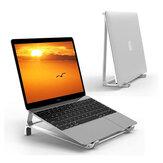 Aluminium 2 in 1 Verticale standaard Laptopstandaard Tablethouder Bureau Mobiele telefoonstandaard voor 17