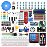 Kit de aprendizado do Geekcreit Ultimate Starter Kit para Raspberry Pi Modelo 3B + 3B 3A + 2B 1B + 1A + Zero W + Kit Diy