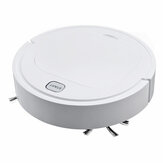 3 in 1 Electric Smart Robot Vacuum Cleaner USB Rechargebale 1800Pa Suction 1200mAh Batter Life