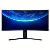 [EU-version] XIAOMI buet spilmonitor 144Hz 3440 * 1440 opløsning 34 tommer 21: 9 Bring Fish Screen Sync Technology Display Monitor med EU-stik