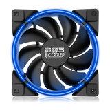 Pccooler Halo 12 cm 1600 RPM RGB LED Lamba Soğutma Fanı 4 Pin PWM Destek CPU Soğutucu Için ASUS AURA