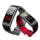 Bakeey Q8S Цветной экран IP68 Кровяное давление Сердце Оценить Монитор Спорт Bluetooth Smart Wristband