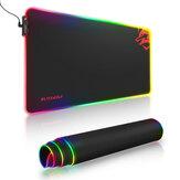 BlitzWolf® BW-MP1 RGB Gaming ratón Pad Large Teclado Pad Tapete protector para mesa de escritorio para oficina en casa