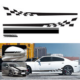 5pcs Car Stickers Stripes Graphics Side Body Hood Rearview Mirror Decal Trim