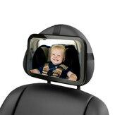 Seggiolino auto interno specchietto retrovisore sicurezza posteriore rivolto verso il reparto cura bambino neonato