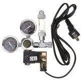 Reguladores de CO2 do aquário de 220V Verificar o solenóide magnético W21.8 do contador da bolha da válvula