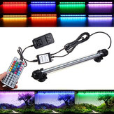 AC110-240V 18CM 5050 2.9W RGB LED Aquarium Fish Tank Light Color Changing Bar Submersible Lamp + 44Keys Remote Control