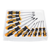 11Pcs Torx Chrome Vanadium Steel Screwdriver Magnetic Tip Repair Hand Tool Set