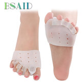 2 Pairs / Set Toe Separator Zestaw tampi-piszczelowy Forefoot Pad