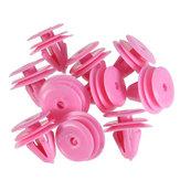 Pink Nylon Trim Panel Clip Car Fastener Clip For Hyundai Kia