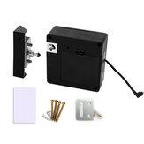 Porta antifurto senza chiave serratura Nascosto invisibile RFID Armadio per guardaroba con cassetto per schede serraturas
