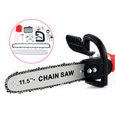11.5 Inch Electric Chainsaw Stand Adapter Bracket Change Wood Cut Set For Angle Grinder