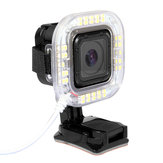 1.9W 160 LM 38pcs USB LED Anel de lanterna para GoPro Hero 4 Session