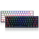 Royal Kludge RK61 61 nøgler Mekanisk gamingtastatur Bluetooth Wired Dual Mode RGB-tastatur