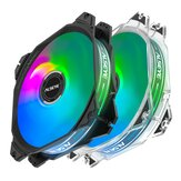 ALSEYE RGB Fan 120mm LED Computer Case Cooling Fan 2510-3Pin & Molex 4pin Connector MAX Series