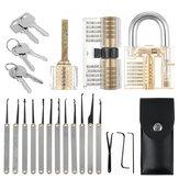 5/19/25 Uds desbloqueo de cerrajería práctica cerradura de selección Extractor de llave candado ganzúa herramienta Kits