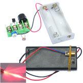 3Pcs DIY Infrared Laser visando anti-roubo kit de módulo de alarme de roubo