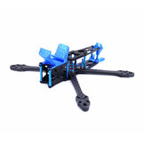 FONSTER Strech X5 V3 5 Inch 220mm Wheelbase 5.5mm Arm Carbon Fiber Frame Kit comptiable DJI FPV Air Unit for RC Drone FPV Racing