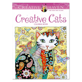 Creative Cats 24 Pages Double-sided Hand-painted Coloring English Book Children Adult Decompression Drawing Coloring Book Painting Paper