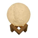 880 ML Nawilżacz Powietrza 3D Księżyc Lampa Światła Dyfuzor Olejek Aromatyczny Ultradźwiękowy Nawilżacz USB Noc Tricolor Oczyszczacz Mgły