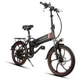 [EU Direct] Samebike XW-20LY 350W Inteligentny składany rower elektryczny 35 km / h Max. Szybka bateria E-Bike 48V 8AH